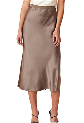 Bec & Bridge Piper Midi Skirt in Olive
