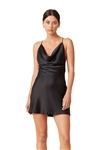 Bec & Bridge Pearl Bay Mini Dress in Black