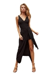 The Jetset Diaries All Right Now Maxi Dress in Black