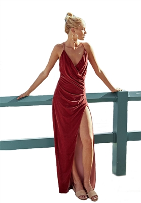 The Jetset Diaries Anguilla Maxi Dress in Rosa
