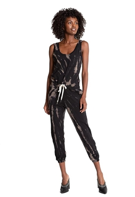 n:Philanthropy World Hazy Twist Tie Dye Jumpsuit