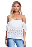 Lovers + Friends Life's A Beach Top in Ivory