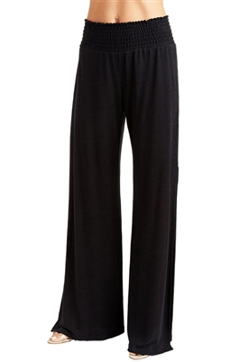 Drew Clothing Franklin Wide Leg Pants in Black