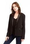 Drew Clothing Maya Tuxedo Blazer in Black