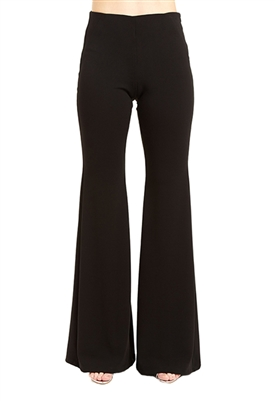 Drew Clothing Rochelle Flare Pants in Black