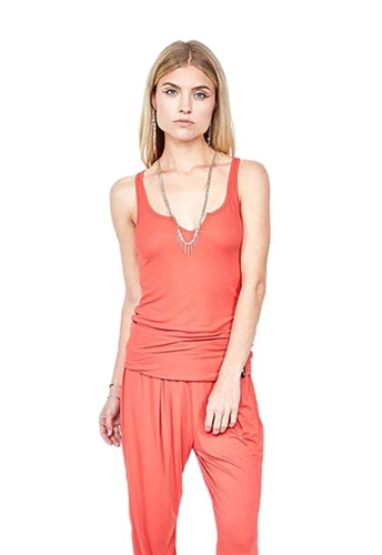 Michael Lauren Murphy Tank in Red
