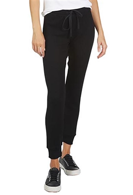 Michael Lauren Burke Slim Jogger in Black