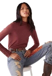 We The Free (Free People) Hooked On You Cuff Top Burgundy