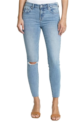 Pistola Audrey Mid Rise Skinny Jeans in Radiate