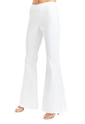 Drew Clothing Rochelle Flare Pants in White