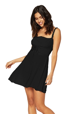 Flynn Skye Mischa Mini Dress in Black