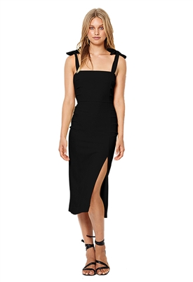 Bec & Bridge Bonita Tie Dress in Black