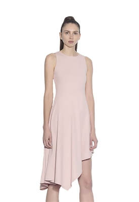 Susana Monaco Sleeveless Drape Skirt Dress in Petticoat