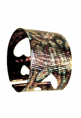 Sibilla G Sweet Valentine Cuff in Stainless Steel