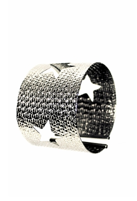 Sibilla G Starlight Cuff in Stainless Steel