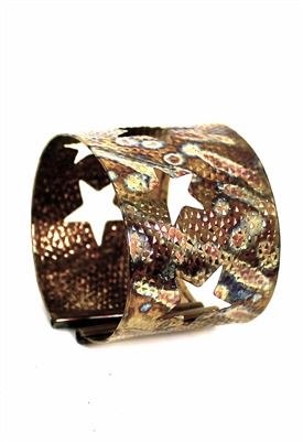 Sibilla G Cosmic Starlight Cuff in Stainless Steel