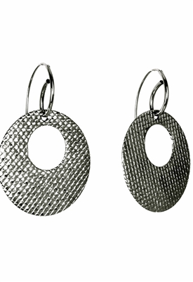 Sibilla G Small Diamond O Earrings