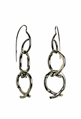 Sibilla G Double Stacked XOXO Earrings