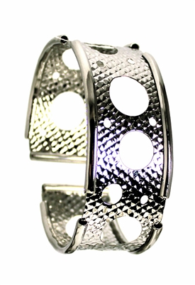 Sibilla G Orbit Cuff in Stainless Steel