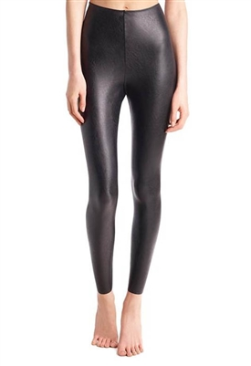 Commando Faux Leather Leggings with Perfect Control in Black