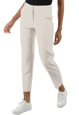 525 America Soft Tailored Tux Stripe Pants in Chalk