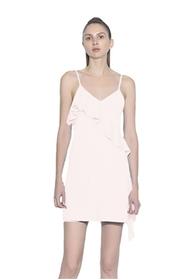 Susana Monaco Cascade Ruffle Slip Dress in TuTu