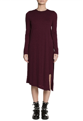 Sen Collection Brilliance Dress in Eggplant