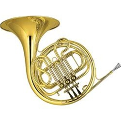 Rent-To-Own Single French Horn Student Musical Instrument Rental