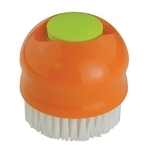 Casabella 2 in 1 Veggie Brush Orange/Lime #53340_1