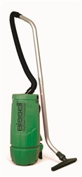 Bissell Big Green 10-Quart Backpack Vacuum, 5 tools, hose, 2 piece wand, backrest. 12 lbs. #BGPRO10A