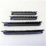Dust Care Brush Strip, Blue 2 Short 2 Long PB11 Power Nozzle #PB11-1-11