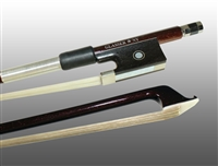 VIOLIN BOW ADVANCED COMPOSITE, FULLY-LINED EBONY FROG, NICKEL WIRE GRIP