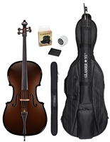 CARBON COMPOSITE ACOUSTIC CELLO 3/4 OUTFIT