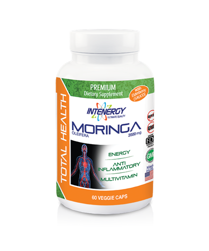 Intenergy Premium The ultimate super food - Moringa Oleifera with Elderberry