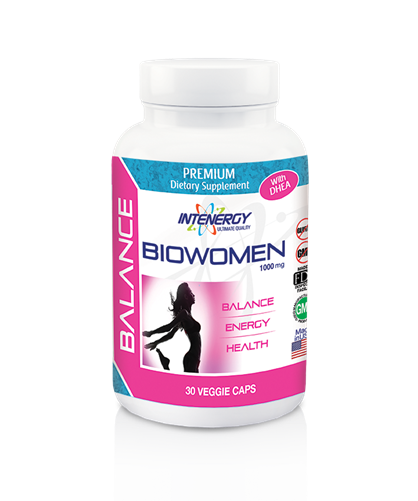 Intenergy Premium Dietary Supplements Biowomen Caps