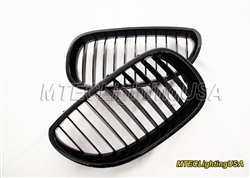 High Gloss Black Kidney Grill BMW E60 E61 5 Series Sedan Touring 2004-2010