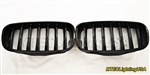 High Gloss Black Kidney Grill BMW E71 X6 Series 2008-2014