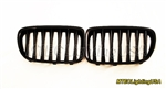 Matte Black Kidney Grill BMW E84 X1 Series 2009-2014