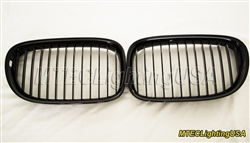 High Gloss Black Kidney Grill BMW F01 F02 7 Series 2009-2015