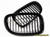 Matte Black Kidney Grill BMW F01 F02 7 Series 2009-2015
