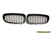 Matte Black Kidney Grill BMW F10 F11 5 Series Sedan Touring 2011-2015