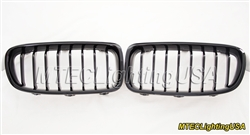 High Gloss Black Kidney Grill BMW F30 F31 3 Series Sedan Touring 2012-2015