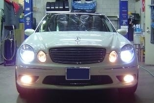 MTEC Xenon HID Conversion Kit Mercedes Benz W211 E Class