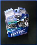 MTEC 4750K H4 HB2 Cosmos Blue White Bulbs