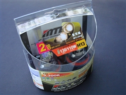 MTEC 3300K H13 Golden Yellow Bulbs