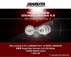 MTEC V4 (2021 Newest Model) BMW Angel Eye LED Bulbs E39 5 Series 2001-2003