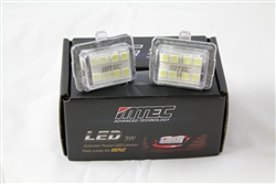 MTEC Mercedes Benz LED License Plate Light