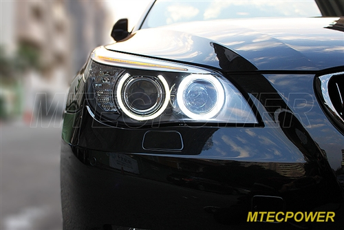 E60 Angel Headlight Bmw 5 Led 2008 Mtec Wfactory V4 H8 Cree Eye Models2018 E61 26w 2010 Model Xenon Series Bulbs j5ALR4
