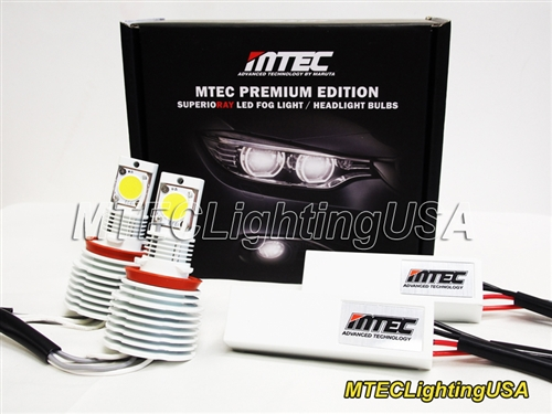 Mtec H8 H9 H11 Led Fog Dring Light Bulbs