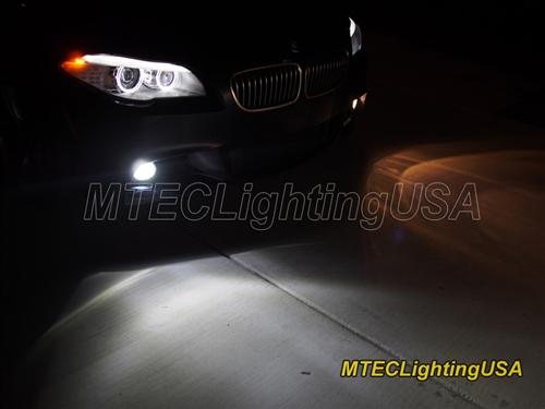 Mtec 6000k H8 H9 H11 Led Fog Driving Light Bulbs